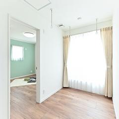 【上越妙高】安い注文住宅をお探しのあなたにピッタリの家!ジャスミーハウス【階段ホール】