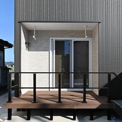 【上越妙高】安くて質の良い新築注文住宅をお探しのあなたにピッタリの家!ジャスミーハウス【ウッドデッキ】
