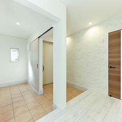 【上越妙高】安くて質の良い注文住宅をお探しのあなたにピッタリの家!ジャスミーハウス【玄関・シューズクローク】