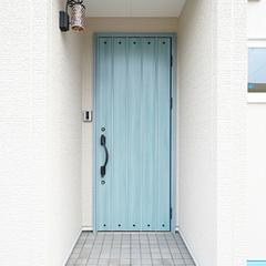 上越市妙高市で新築・工務店をお探しの方におすすめ!【R下り壁・アーチ壁の玄関ポーチ】