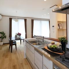 鹿児島市鷹師のナチュラルな外観の家でステキな玄関のあるお家は、クレバリーホーム 鹿児島南店まで!