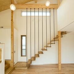 山際建設より、開放感のある階段スペース・川口市