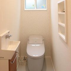 山際建設より清潔感のあるトイレ・川口市