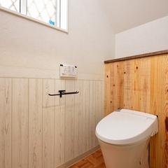 山際建設よりトイレタンクも収納・川口市