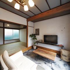K-Industrialデザインより築40年アパートをフルリノベーション