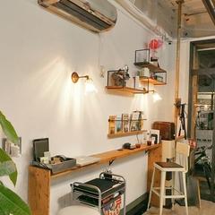 K-industrialデザインより美容室「sun&me」