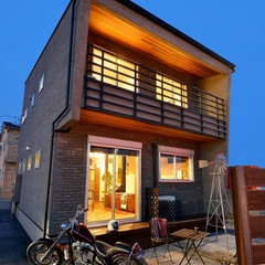 K-industrial・ブルックリン住宅