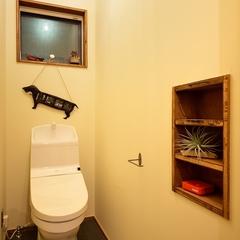 K-industrial・ブルックリン住宅:トイレ