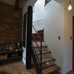 K-industrial・ブルックリン住宅、階段