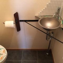 川口市 かっこいいトイレ手洗い