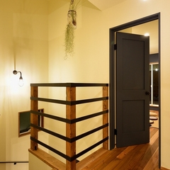 K-industrialよりデザイン企画住宅K-Brooklynの2階