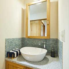 ホッと癒されるおしゃれな快適空間!北欧テイストの洗面所