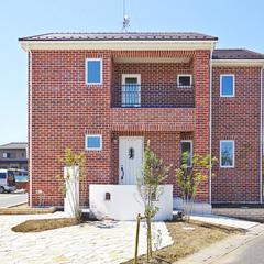 タスマニアレンガの家