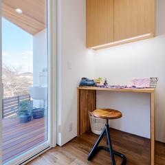モデルハウス/パントリー/BAWSTANDARD/自然素材の家ならウッドスタイル株式会社