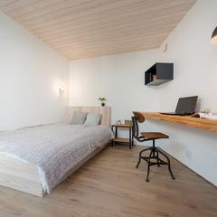 モデルハウス/寝室/BAWSTANDARD/高知の住まいづくりならウッドスタイル株式会社