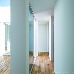 廊下/中庭/ウッドデッキ/高知県土佐市の注文住宅ならウッドスタイル株式会社