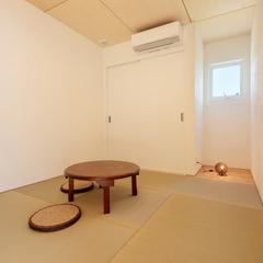 和室/塗り壁/BAW STANDARD/高知県土佐市の自然素材の家はウッドスタイル株式会社