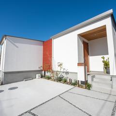 モデルハウス外観/高知の注文住宅はウッドスタイル株式会社
