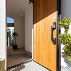 モデルハウス玄関/高知で自然素材の家を建てるならウッドスタイル株式会社