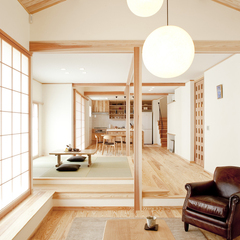 「木の温もり溢れる自然派住宅」
