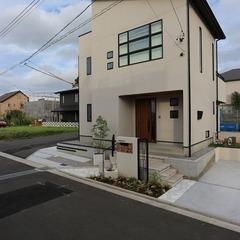 静岡市葵区 眺望抜群!高台に建つ2階リビングの家