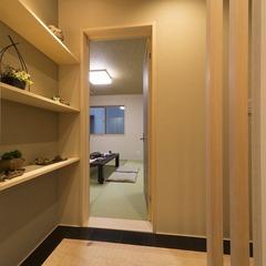 静岡市葵区ビルドインガレージのある共有2世帯の家