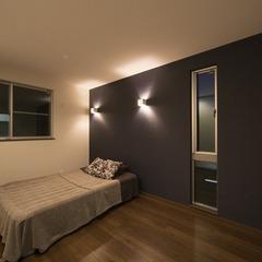 静岡市清水区勾配天井で広々リビングの2世帯住宅