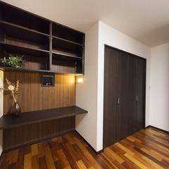 静岡市駿河区 屋上庭園で楽しい玄関共有 2世帯住宅