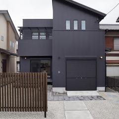 焼津市 趣味を楽しむガレージルームのある家