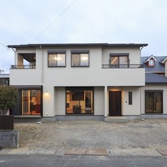 静岡市清水区インナーバルコニーのある2世帯住宅