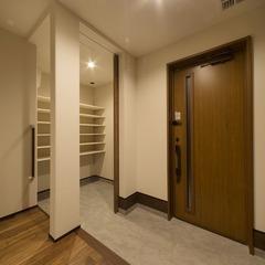 静岡県藤枝市 パントリー・室内干し、家事楽アイディアいっぱいの家