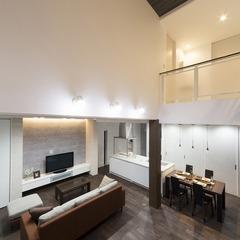 静岡県藤枝市高級シンプルモダンの大空間の家