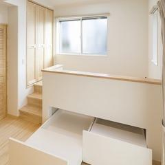 静岡市葵区 ナチュラルテイストの無垢材いっぱいの家