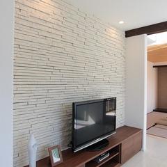 静岡市葵区 モダンな大理石調の床の家