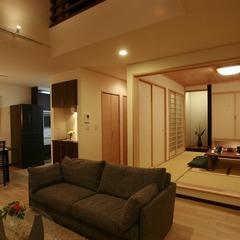 静岡県駿河区 8畳和室がある和モダンの家
