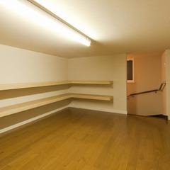 モダン和室でシックなデザインの家