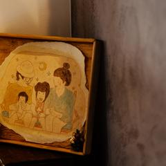 玄関スペースを雑貨でおしゃれにデザイン/四国中央市「紅と真果の家」