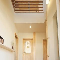 柔らかで明るい玄関