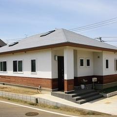 平屋の住宅