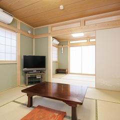 二間続きの和室のお部屋