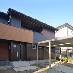 床も壁も天井もオール自然素材、おいしい空気と長岡花火を楽しむ家、長岡市に完成しました。