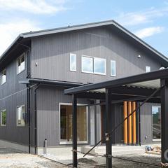 ~玄関と水廻りを一緒に使う~2世帯住宅が柏崎市に完成しました。