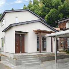 家族が早く家に帰りたくなる「ホッ・・・」とする、あったかい家、長岡市に完成しました。