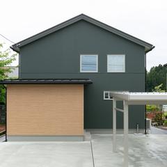 【柏崎市】空気のカーテンで外の温度を遮断する!自然素材+「特許工法」AIR断熱の家。