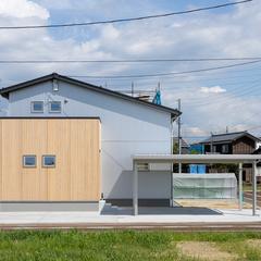 【三条市】3LDK+自由空間、31.3坪の子育て世代の家族にちょうどいいコンパクトにつくって広く暮らせる自然素材の家。