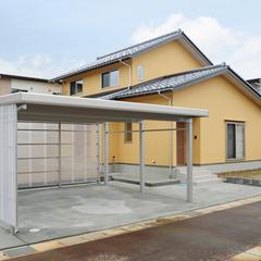 床も天井も壁もオール自然素材の和風住宅が燕市に完成しました。