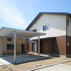 「エコな家造り」&35.5坪、子育て世代の「自然素材の家」柏崎市に完成しました。