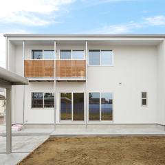 燕市にシンプルで上質な外観のデザインのお家が完成しました。