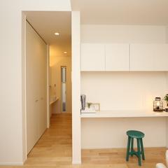 casa cube モデルハウス 白い空間