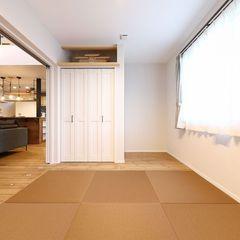 ハウスカは、数多くある畳の中からお家とのトータルコーディネートを考えて色味をご提案します。